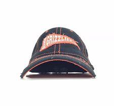 MiLB Fresno Grizzlies Pennant Shaped Logo Baseball Cap Hat Flex Fit Men's XL