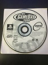 NFL GameDay 2000 (Sony PlayStation 1, 1999) DISC ONLY
