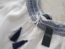 RALPH LAUREN  Damen Carmen Bluse  Gr. XL  pure weiß UVP: 155€  Neu mit Etikett.