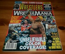 SUPERSTAR WRESTLERS * AUGUST 1993 * Wrestling Magazine * HULK HOGAN * BRET HART