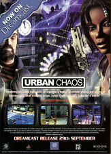 "Urban Chaos ""Release 29th September"" 2000 Magazine Advert #5434"