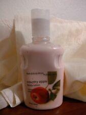 NEW Bath Body Works Pleasures Original Formula Country Apple Body Lotion 8 oz