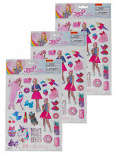 JoJo Siwa Raised Sticker Sheet (22-Ct) 3-Sheet Set