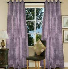 Grommet Block Out Single Panel Curtain Jacquard Fabric