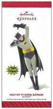 2014 Hallmark Batman the Classic TV Series Holy Hit TV Show, Batman Ornament!