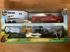 Country Life 20pc Horse Ranch Set:Truck, Trailer, Horse & Rider Brand New In Box