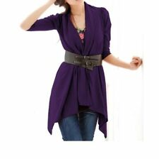 Polyester Casual Regular Size Coats & Jackets for Women