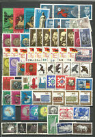 DDR   1965 gestempelt kompletter Jahrgang mit allen Einzelmarken--Super -Stempel