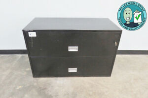Schwab 5000 Lateral Fireproof File Cabinet - 2 Drawer - with Warranty