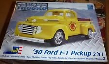 REVELL 85-7203 1950 FORD F-1 PICKUP 2N1 1/25 Model Car Mountain KIT FS