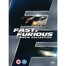 Fast and Furious 1-7 Movie BOXSET DVD - 2015 Region 2 All 7 Movies