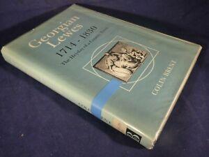GEORGIAN LEWES 1714 1830 BRENT SUSSEX HISTORY BOOK