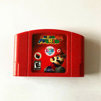 1pcs Game Card N64 Super mario 64 Doki for Nintendo 64 US edition
