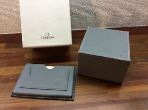 Omega Vintage Watch Box 1992 + booklet and card holder +Free Post