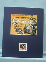 Walt Disney's Snow White and the Seven Dwarfs honored by its own Stamp