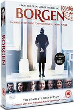 BORGEN - SERIES 1 - DVD - REGION 2 UK