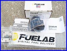 Fuelab 51502-1 Universal EFI Adjustable Fuel Pressure Regulator 25-90 psi Black