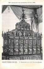 BR38344 Velha Cidade de Goa tumulo de prata india