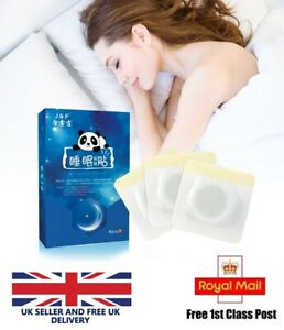 Sleep Patches Insomnia Remedy Improve Sleeping Natural Revive Care UK Seller