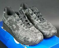 WMNS ASICS GEL LYTE III 3 SIZE UK 3.5 / EU 36 BLACK TRAINERS DS RARE REFLECTIVE