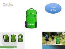 Clé USB Ryval sac à dos sportif, Key Pen Flash drive, USB-Stick Rucksack 8Go/Gb