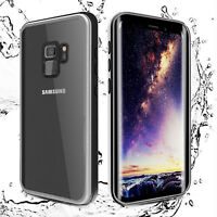 Waterproof Armor Hard Case with Built-in Screen Protector For Samsung Galaxy S9+