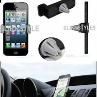 Universal Mobile Phone 360° Rotating In Car Air Vent Mount Holder Cradle Stand .