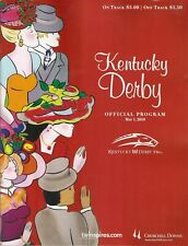 2010 - 136th Kentucky Derby program in MINT Condition - SUPER SAVER