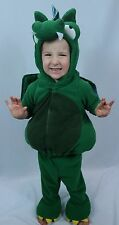 Toddler's Old Navy 2-PC Green Dragon/Dinosaur Halloween Costume - Sz 12-24 M