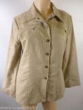 Manteaux et vestes beige en polyester pour femme