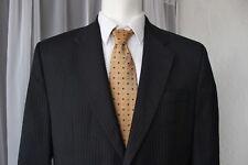 Ralph Lauren 100% Wool Charcoal Suit Blazer Jacket 2Btn Mens 46R
