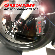 100mm Carbon Air Duct Caliper Brake Cooling for DUCATI 1199 PANIGALE 2012-2014