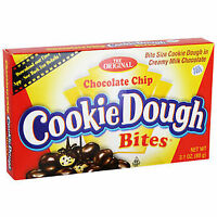 Chocolate Chip Cookie Dough Bites Candy Sweets Theatre Box American USA Imported