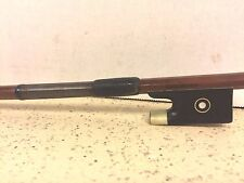 Vintage Felix Martin Violin Bow with Mother of Pearl Eyes on Frog
