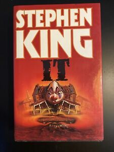 Stephen King IT 1987 edition like new