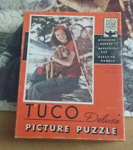 TUCO Vintage Puzzle WINTER PALS 300-500pc.complete