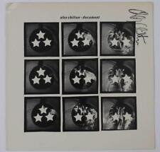 "Alex Chilton BIG STAR Signed Autograph ""Document"" Album Vinyl Record LP Box Tops"