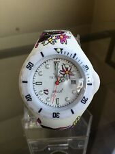 NIB TOY WATCH Jelly Tattoo Collection Unisex Silicone Strap Watch FREE SHIP