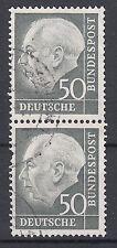BRD 1954 Mi. Nr. 189 senkrechtes Paar gestempelt (18338)