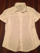 Standard James Perse Woman Shirt Size 1 White