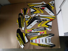 FLU DESIGNS  PTS3 TEAM GRAPHICS  SUZUKI  RMZ250 2007  2008   2009