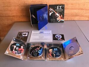 E.T. THE EXTRA-TERRESTRIAL 20TH ANNIVERSARY ULTIMATE GIFT BOXED SET 2002