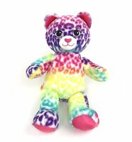 Build A Bear Workshop Kitty Cat Rainbow Multi Color Plush Stuffed Animal Plush