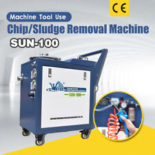 SFX Cutting Fluid Chip / Sludge Removal Machine for CNC Machine Lathe Machining