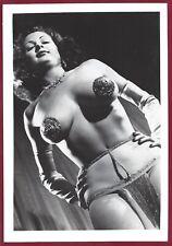 1950s Vintage Nude Photo~Mega Big Breasts Pinup Burlesque Stripper Tempest Strom
