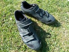 NORTHWAVE TOURING 3S CYCLING SHOES 42 or 8½ BLACK with WHITE DETAILS