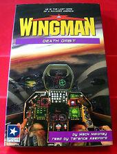 Mack Maloney Wingman #13 Death Orbit 2-Tape Audio Bk Terence Aselford Adventure
