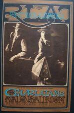 CHARLATANS FAMILY DOG FD 67-1 vintageconcert poster AVALON BALLROOM RICK GRIFFIN