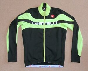 """EXCELLENT CONDITION CASTELLI LONG SLEEVE JERSEY. LARGE 40"""" CIRCUMFERENCE"""