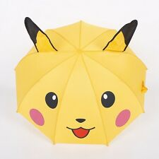 Umbrella Cute Pokemon GO Pikachu Straight Handle Kids Children Gift Custom
